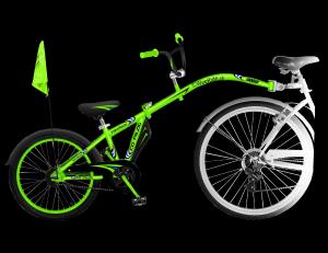 WeeRide® CO – Pilot prípojný detský bicykel
