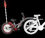 WeeRide® CO – Pilot XT prípojný detský bicykel